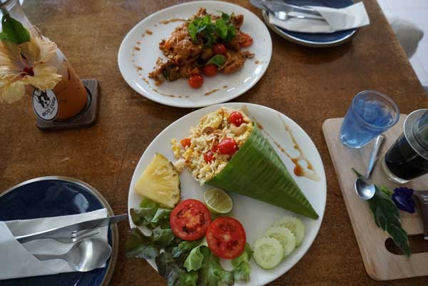 hua hin food on table
